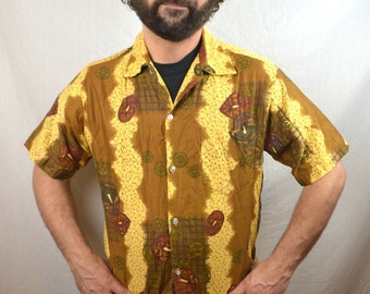 Men's Vintage 60s Tropicana Tiki Hawaiian Shirt