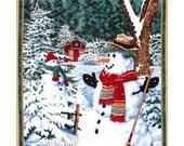 Snow Day Snowman Panel