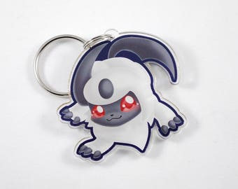 Pokemon Chibi Absol Keychain