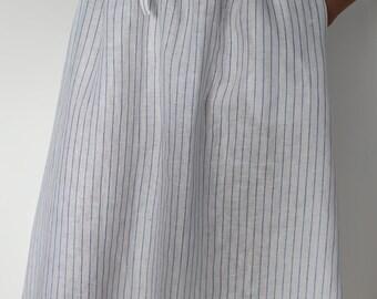 Beautiful linen skirt size xs-s-m