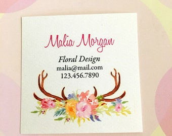 Custom Business Cards, Business Cards, Set of 48