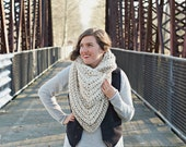 NEW! The Stormwater Stole | 22 Color Choices | Chunky Knit Oversized Winter Shawl Scarf