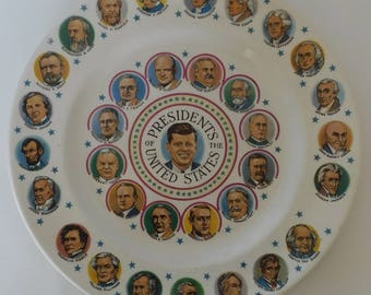 John F. Kennedy Presidential Plate