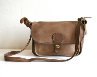 Coach Tan Brown Satchel Bag