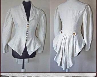 Steampunk bridal tailcoat UK 10/12