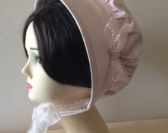 CUSTOM Regency Bonnet. Jane Austen. 'MARIA' Your choice of colour/fabric/trims.