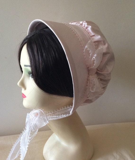 CUSTOM Regency Bonnet. Jane Austen. 'MARIA' Your choice of colour/fabric/trims.