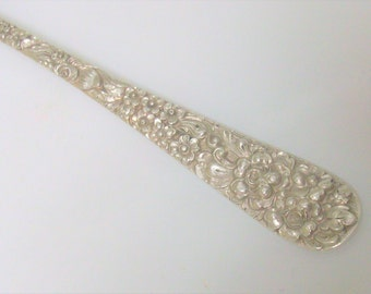 Sterling Silver Stieff Salad Fork Rose /