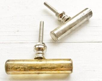 4, Cabinet Hardware Handles, Big Handles, Brass Handles, Vintage ...