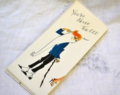 1950s NOS Old Man Birthday Card with Envelope