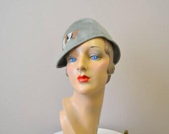 1950s Schiaparelli Fur Felt Hat