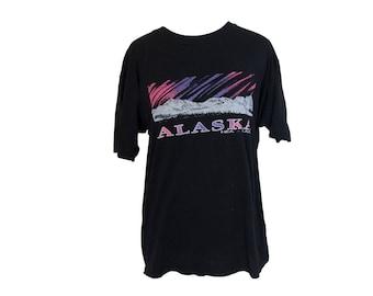 Vintage 80's Alaska T-shirt Size Large
