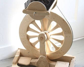 FREE US Shipping, Spinolution Mach III, 3 Bobbins Included, Double Treadle, Production Wheel, 4 sizes to Choose From, American Made