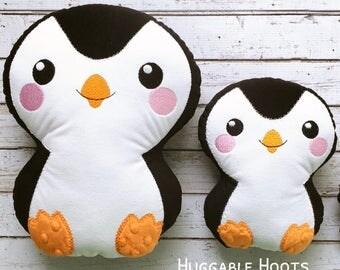Plush Penguin - Stuffed Penguin - Penguin Plushie - Penguin Stuffie - Stuffed Animal - Penguin Stuffed Toy - Personalized Stuffed Animal