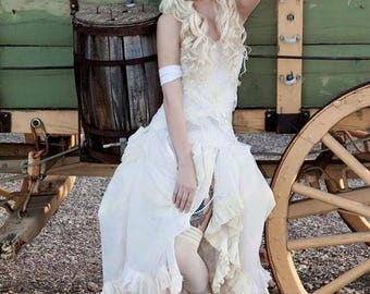 Artax Dress - Steampunk Wedding Dress - Fairy Dress - Made to Order