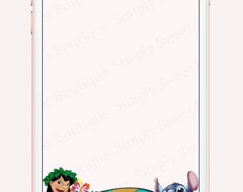 Lilo & Stitch snapchat geofilter, kids birthday party, snapchat, geofilter, lilo and stitch, childrens snapchat filters