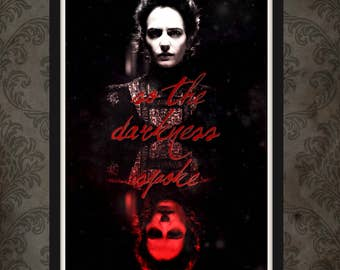 Vanessa Ives Print 11x17 Inspired by Penny Dreadful