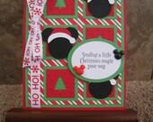 Disney Handmade Christmas Card - Mickey Mouse - Santa