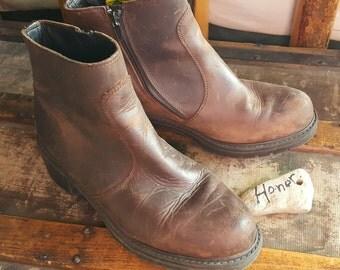 Leather Ankle Boots / Havana Joe's/ 1990s
