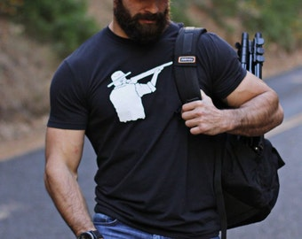 Father's Day Sale- Black t-shirt for men - Men's Clothing - Men's Apparel - soft tee for men - Men's Fashion t-shirt - Gift for Men