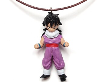 Gohan - found figure upcycled necklace