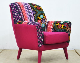 Bay Armchair - pink love
