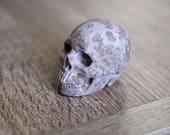 Chohua Jasper Stone Carved Crystal Skull