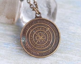 Royal Life Saving Society UK Necklace - Bronze Medallion Lifeguard Award - Made in England