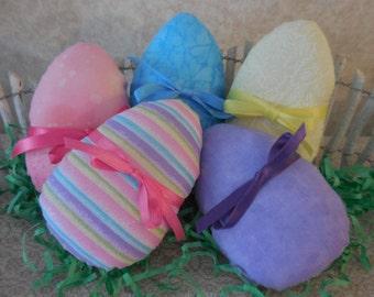 Primitive Easter Egg Bowl Filler Tucks Easter Egg Ornaments Holiday Decor
