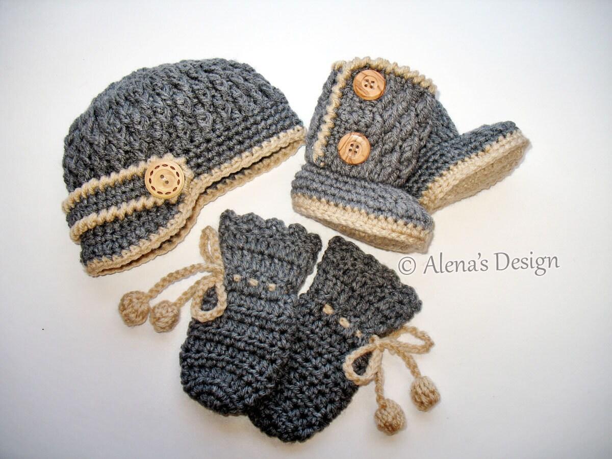 Crochet pattern set crochet patterns two button baby zoom bankloansurffo Images