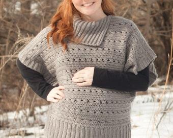Crochet Pattern: Oversized Sweater