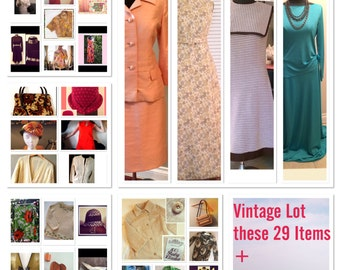 Make an Offer on Vintage Lot with these 29 plus more items