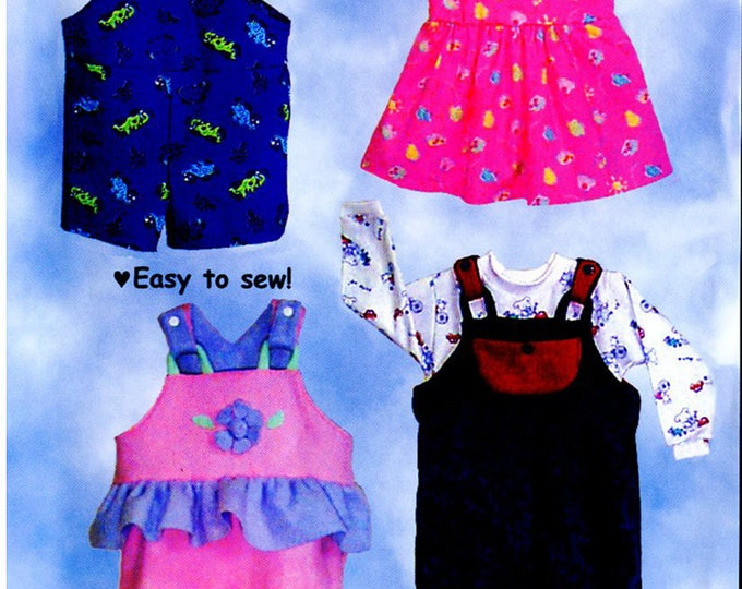 Overalls Pattern / Bib Overalls / Boys / Girls / Shirt Pattern / Skirt Option / Comfy-Alls