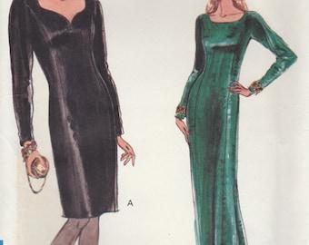 Slinky Dress Pattern Vogue 7891 Sizes 12 14 16 Uncut