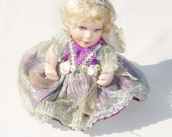 Beautiful Vintage Porcelain Fairy Doll