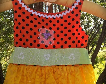 Delicious Candy Corn Little Witch Dress Mary Engelbrett Style Vintage Details Size 5
