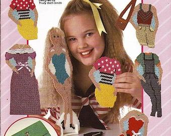 Dressing Pretty Fashion Doll Plastic Canvas Pattern  Book The Needlecraft Shop 933723