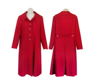red princess coat – Etsy