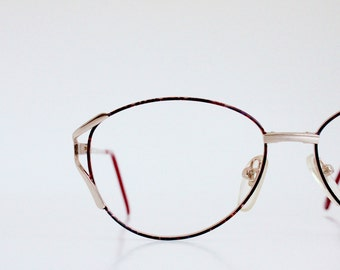 Vintage Red Wire Eyeglass Frames