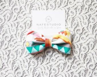 Men's Bow Tie Pre-tied Bow Tie For Men - Wedding Groom Bow Tie - Boho Bow Tie Bohemian Bow Tie - Handmade Mens Gift Wedding Gifts