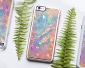 iPhone 7 Case, Opal iPhone Case, iPhone 7, Healing Crystal, Pink Opal, Crystal Case, Clear Case, iPhone 7 Hipster, Gift for Her,