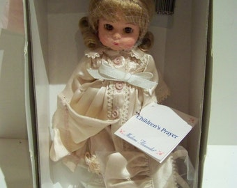 Childrens Prayer Madame Alexander 8 in doll MIB never out of box