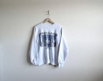 Vintage Dallas Cowboys Sweatshirt, Mens Sweatshirt, Womens Sweatshirt, Dallas Texas, NFL Sweatshirt, 90s Sweatshirt, Mens Small, Womens M