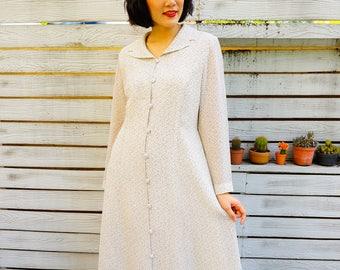 Vintage Dress/ 1990s Dress/ 90s Floral Maxi Dress/ Vintage Womens Dress/ Summer Dress/ Vintage Floral Dress/ Retro clothing/ Maxi Dess