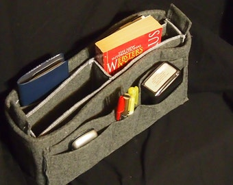 LV Felt handbag insert \ Purse organizer \ MM \ GM \ Lv \ Hard bottom \ Tabs \ Purse Organizer Insert \ Custom Organizer \ 14L 3D 7H