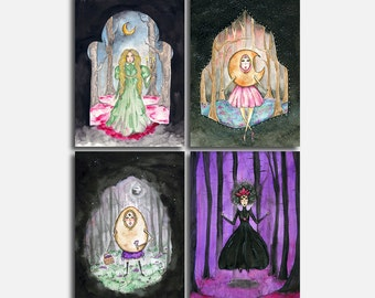"""5x7"""" Prints - Witches"""