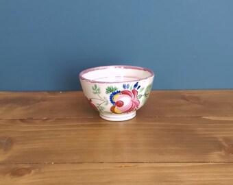 Georgian Toy Pearlware Tea Bowl c1810