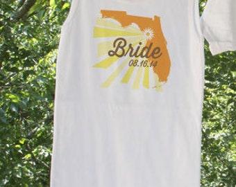 Florida Bride // Bride Florida personalized with date