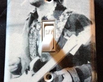 Eric Clapton Light Switch Plate