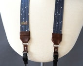 The 'Sailor' Denim Camera Strap with Quick Release Buckles -- 1.5 inches wide